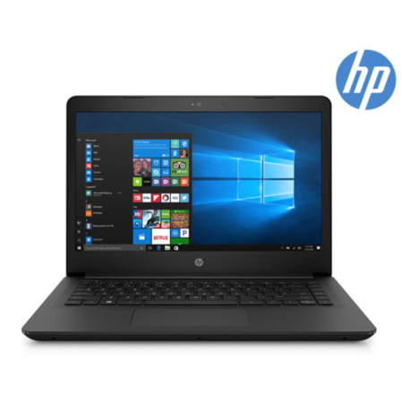 Refurbished HP 14-bp059sa Intel Celeron N3060 4GB 64GB 14 Inch Windows 10 Laptop in Jet Black