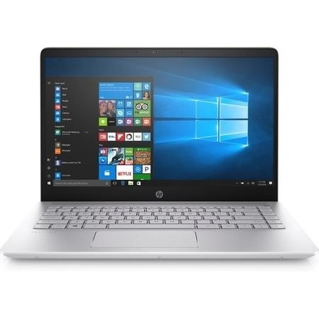 A1/2PN05EA Refurbished HP Pavilion 14-bf101na Core i5 8250U 8GB 256GB 14 Inch Windows 10 Laptop in Silver