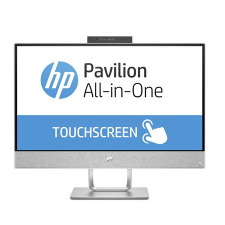 A1/2XB32EA Refurbished HP Pavilion 24-x005na Core i5-7400T 8GB 1TB & 128GB 23.8 Inch Windows 10 Touchscreen All in One