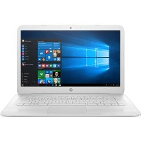 Refurbished HP Stream 14-ax057sa Intel Celeron N3060 4GB 32GB 14 Inch Windows 10 Laptop in White