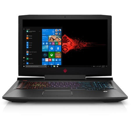 A1/3ZV26EA Refurbished HP 17-an101na Core i7-8750H 8GB 1TB GeForce GTX 1060 17.3 Inch Windows 10 Laptop in Shadow Black