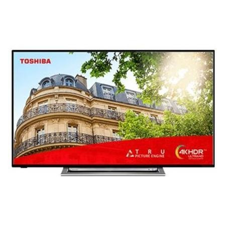 "Refurbished Toshiba 43"" 4K Ultra HD with HDR LED Freeview Play Smart TV"