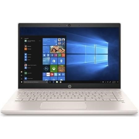 A1/4AZ86EA Refurbished HP Pavilion Intel Pentium 4415U 4GB 128GB 14 Inch Windows 10 Laptop  in White & Gold
