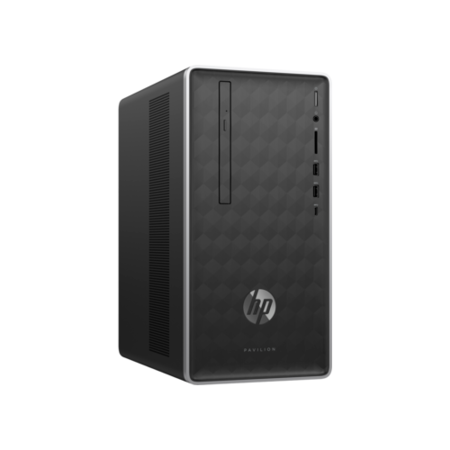 A1/4DH67EA Refurbished HP Pavilion 590-a0008na AMD E2-9000 4GB 1TB Windows 10 Desktop