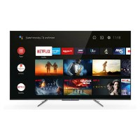 "Refurbished TCL 55"" 4K Ultra HD with HDR10+ QLED Freeview Play Smart TV"