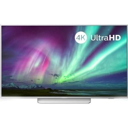 "Refurbished Philips Ambilight 65"" 4K Ultra HD with HDR10+ LED Freeview HD Smart TV without Stand"