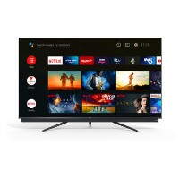 "Refurbished TCL 75"" 4K Ultra HD with HDR QLED Freeview Play Smart TV"