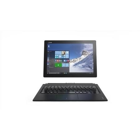 Refurbished Lenovo Miix 00-12ISK 80QL Core M5-6Y54 4GB 128GB 12 Inch Windows 10 Convertible Tablet in Black