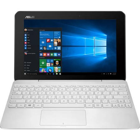 A1/90NB074B-M02510 Refurbished Asus T100HA FU004T Intel Atom x5-Z8500 2GB 64GB 10.1 Inch Windows 10 Laptop in White