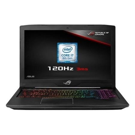 A1/90NR0082-M00430 Refurbished Asus Rog GL503GE Core i7-8750H 8GB 1TB + 128GB 15.6 Inch NVIDIA GTX 1050Ti Windows 10 Gaming Laptop