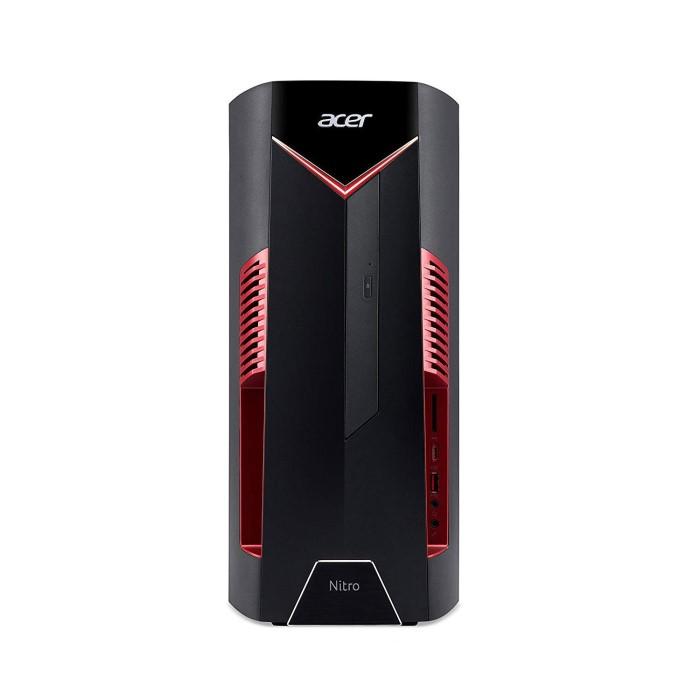 Refurbished Acer Nitro N50-600 Core i5-8400 8GB 16GB Intel Optane 1TB  DVD-RW GTX 1050 Windows 10 Gaming Desktop PC