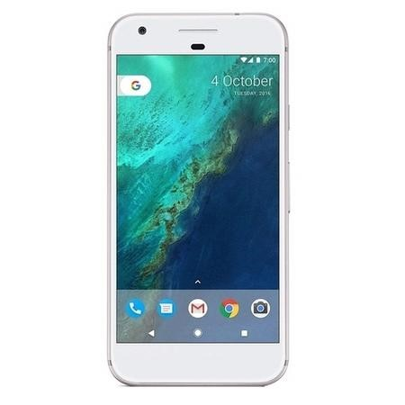 "Refurbished Google Pixel Very Silver 5"" 32GB Unlocked & SIM Free"