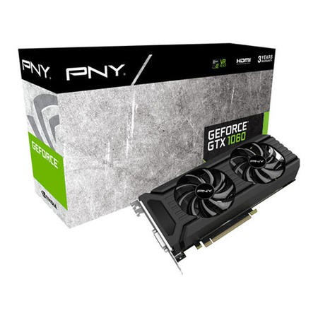 Refurbished PNY GeForce GTX 1060 6GB GDDR5 Graphics Card