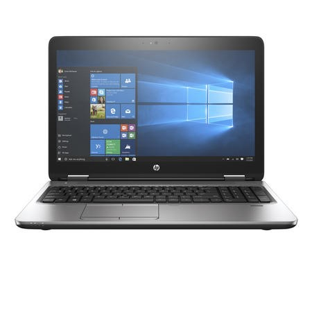 A1/L8U48AV Refurbished HP ProBook 650 G2 NoteBook Core i5-6300U 4GB 500GB DVD-RW 15.6 Inch Windows 10 Professional Laptop In Silver