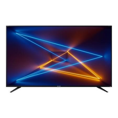 "Refurbished Sharp 55"" 4K Ultra HD with HDR LED Freeview HD Smart TV"