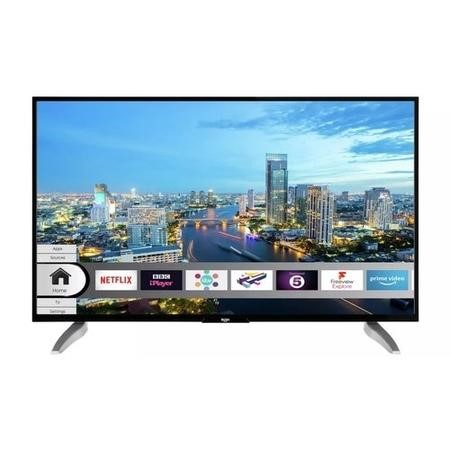 "Refurbished Bush 43"" 4K Ultra HD with HDR LED Freeview Play Smart TV"