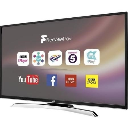 "GRADE A1 - JVC LT-39C770 39"" 1080p Full HD LED Smart TV with Freeview Play"