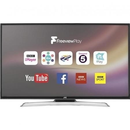 "GRADE A1 - JVC LT-43C870 43"" 4K Ultra HD LED Smart TV with Freeview HD"