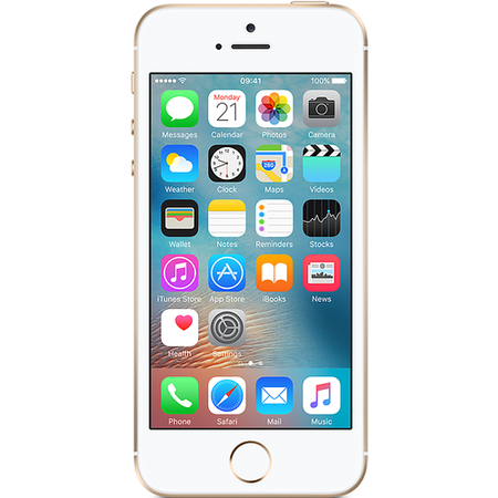 "A1/MP842B/A Grade A Apple iPhone SE Gold 4"" 32GB 4G Unlocked & SIM Free"