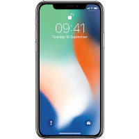 "Grade A1 Apple iPhone X Silver 5.8"" 64GB 4G Unlocked & SIM Free"