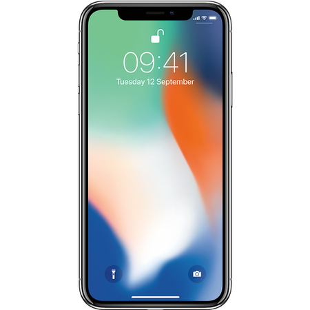 "Grade A Apple iPhone X Silver 5.8"" 64GB 4G SIM Free"
