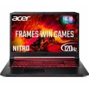 A1/NH.Q9BEK.004 Refurbished Acer Nitro 5 AN517 Core i7-9750H 8GB 256GB RTX 2060 17.3 Inch Windows 10 Gaming Laptop