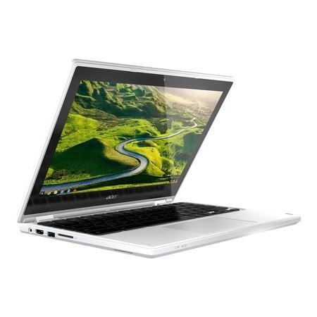 Refurbished Acer CB5-132T Intel Celeron N3060 2GB 32GB 11.6 Inch Chrome OS Touchscreen Convertible Chromebook in White