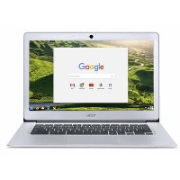 Refurbished Acer 14 CB3-431 Intel Celeron N3060 2GB 32GB 14 Inch Chromebook in Silver
