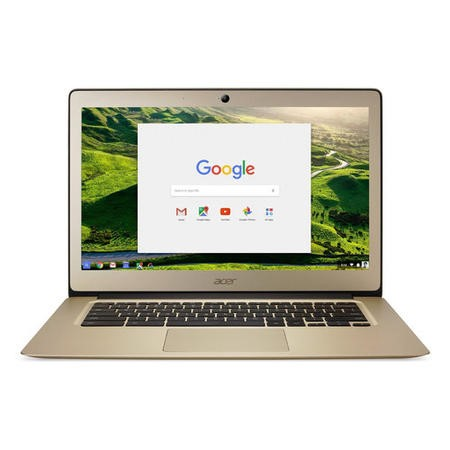 "Refurbished Acer 14 CB3-431 Intel Celeron N3060 2GB 32GB 14"" Chrome OS Chromebook in Gold"