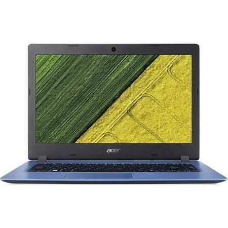 A1/NX.GQ9EK.002 Refurbished Acer Aspire Intel Celeron N3350 4GB 64GB 14 Inch Windows 10 Laptop in Blue
