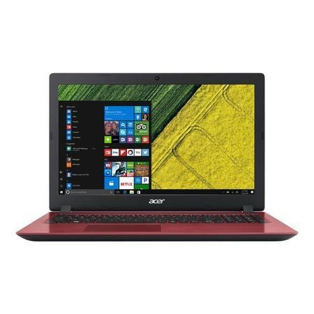 Refurbished Acer Aspire A315-51-32Y4 Core i3-7020U 4GB 1TB 15.6 Inch Windows 10 Laptop in Red