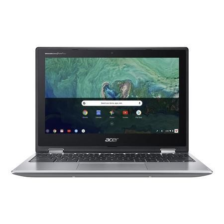 Refurbished Acer Spin 11 Intel Celeron N3450 4GB 32GB 11.6 Inch Convertible Chromebook in Silver