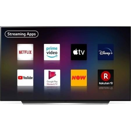 "Refurbished LG 65"" 4K Ultra HD with HDR OLED Freeview HD Smart TV without Stand"