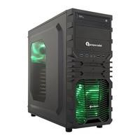 Refurbished PC Specialist Vortex Minerva XT II i5-7400 8GB 2TB NVIDIA GeForce GTX 1060 Windows 10 Desktop