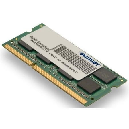 Refurbished Patriot Signature Line 4GB DDR3 1600MHz Non-ECC SO-DIMM Memory