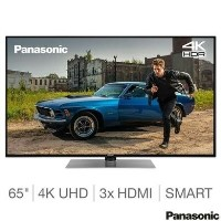 "Refurbished Panasonic 65"" 4K Ultra HD with HDR10 LED Freeview Play Smart TV"
