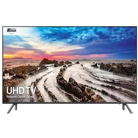 "GRADE A1 - Samsung UE55MU7070 55"" 4K Ultra HD HDR LED Smart TV with Freeview HD - Wall Mount Only No Stand Provided"