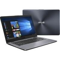 "Refurbished Asus VivoBook X405 Core i3-7100U 4GB 128GB 14"" Windows 10 Laptop in Grey"