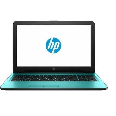 A1/X7G64EA Refurbished HP 15-ba077sa AMD A6-7310 4GB 1TB DVD-RW 15.6 Inch Windows 10 Laptop in Teal