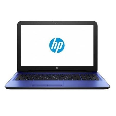 "A2/X7G70EA Refurbished HP 15-ba080sa 15.6"" AMD A6-7310 2GHz 4GB 1TB AMD Radeon R4 Graphics Windows 10 Laptop in Blue"