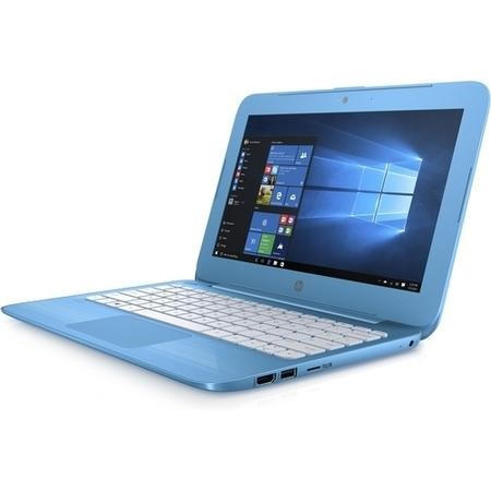 A1/X9W53EA Refurbished HP Stream 11-y000na Intel Celeron N3060 2GB 32GB 11.6 Inch Windows 10 Laptop in Blue