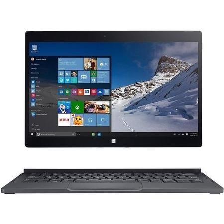 A1/XPS9250-0915BLK Refurbished Dell XPS 12 Core M3-6Y30 4GB 128GB 12.5 Inch Touchscreen Windows 10 Laptop in Silver & Black