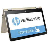 "Refurbished HP Pavilion x360 13-u062na 13.3"" Intel Core i5-6200U 2.3GHz 8GB 128GB SSD Touchscreen Convertible Windows 10 Laptop in Gold"