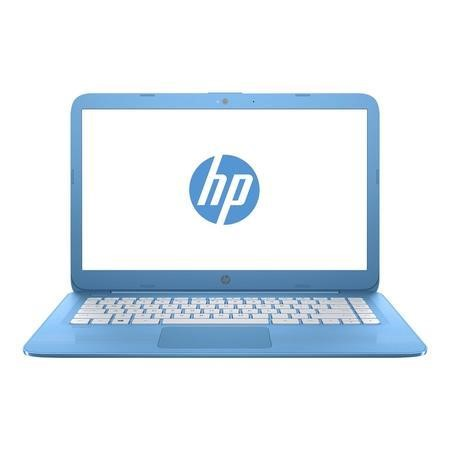 A1/Y3W22EA Refurbished HP Stream 14-ax050na Intel Celeron N3060 4GB 32GB 14 Inch Windows 10 Laptop in Blue