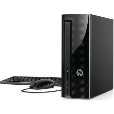 Refurbished HP Slimline 260-a180na AMD A8-7410 8GB 1TB Windows 10 Desktop in Black