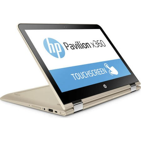 "A1/Y6J14EA Refurbished HP Pavilion x360 13-u062sa 13.3"" Intel Core i5-6200U 2.3GHz 8GB 128GB SSD Touchscreen Convertible Windows 10 Laptop in Gold"