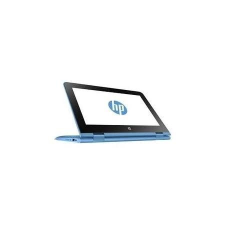 Refurbished HP Stream x360 Intel Celeron N3060 2GB 32GB 11.6 Inch Windows 10 Touchscreen Convertible Laptop in Blue