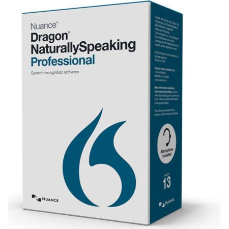 Nuance Dragon Naturally Speaking Professional 13.0 International English