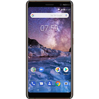"Grade B Nokia 7 Plus Black 6"" 64GB 4G Unlocked & SIM Free"