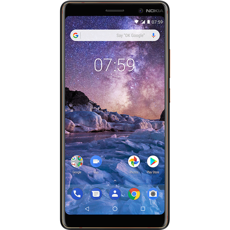 "11B2NB01A03 Nokia 7 Plus Black 6"" 64GB 4G Unlocked & SIM Free"